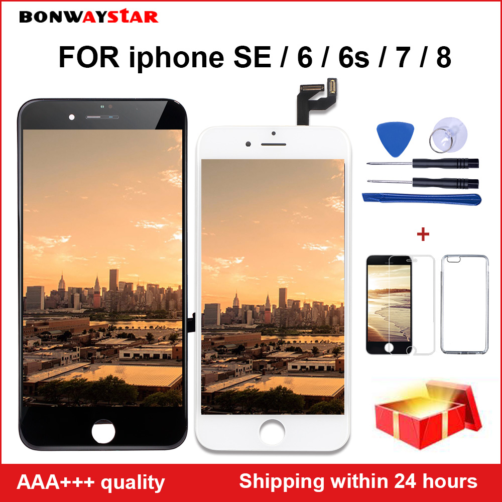 Retina Display For IPhone 7 LCD With 3D Force Touch Screen Digitizer Assembly For IPhone SE 6 6S 8 Screen Display Grade AAAA LCD