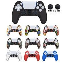 Für PS5 Weiche Silikon Gel Gummi Fall Abdeckung Für SONY Playstation 5 Für PS5 Controller Schutz Fall Für PS5 Zubehör
