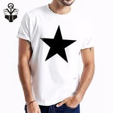 QIM Summer New Arrival Men T-shirt Print Natural Funny Tshirt Man Clothes 2019 Short Sleeve Fashion Casual Top tees
