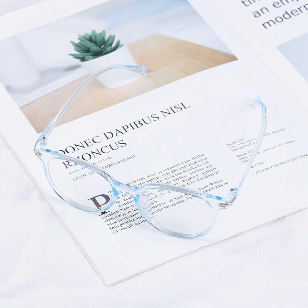 Unisex 광학 안경 안티 블루 라이트 안경 울트라 라이트 수지 컴퓨터 안경 패션 유연한 휴대용 독서 안경