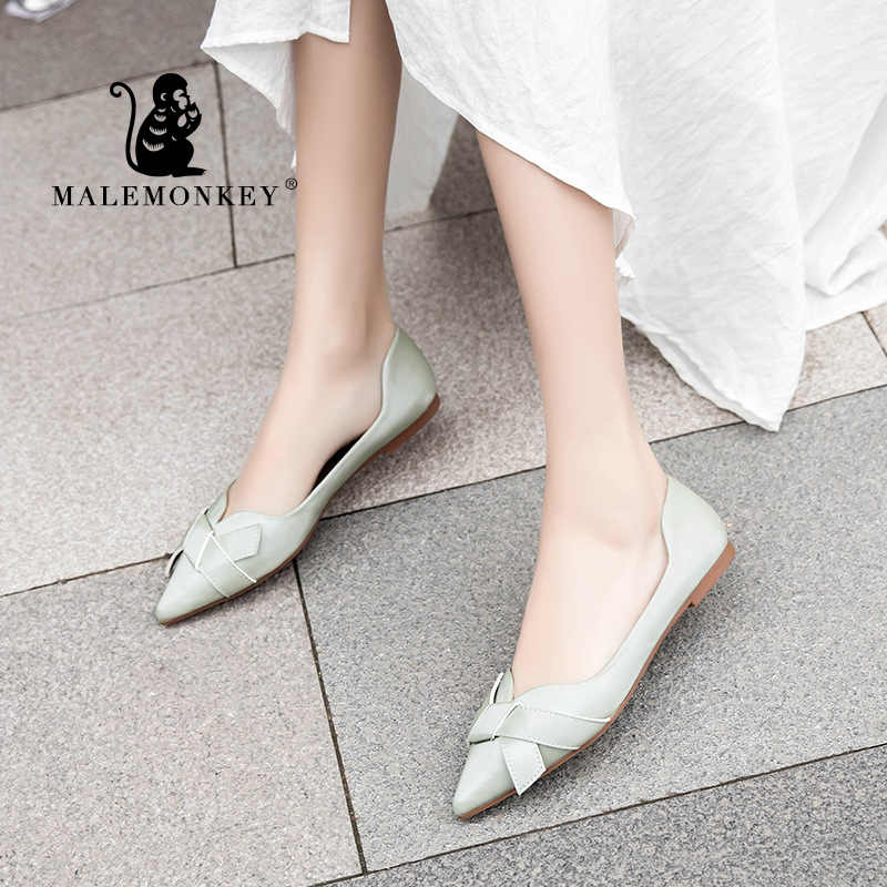Women Ladies Boat Shoes Soft Casual Ballet Slip On Flats Loafers PU Single Shoes