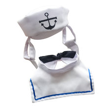 Костюм фулуэ для кошек одежда матросов комплект из 2 предметов