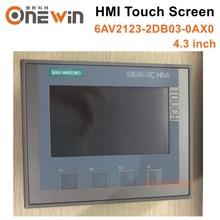 Новое и оригинальное 6AV2123-2DB03-0AX0 HMI Сенсорный экран 4,3 дюймов интерфейс человеческая машина панель KTP400 BASIC 6AV2 123-2DB03-0AX0