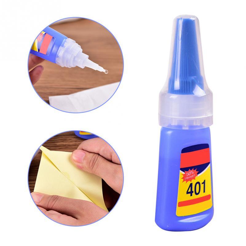 401 Transparent Universal Glue Rapid Fix Instant Fast Adhesive 20g Bottle Stronger Super Glue Multi-Purpose