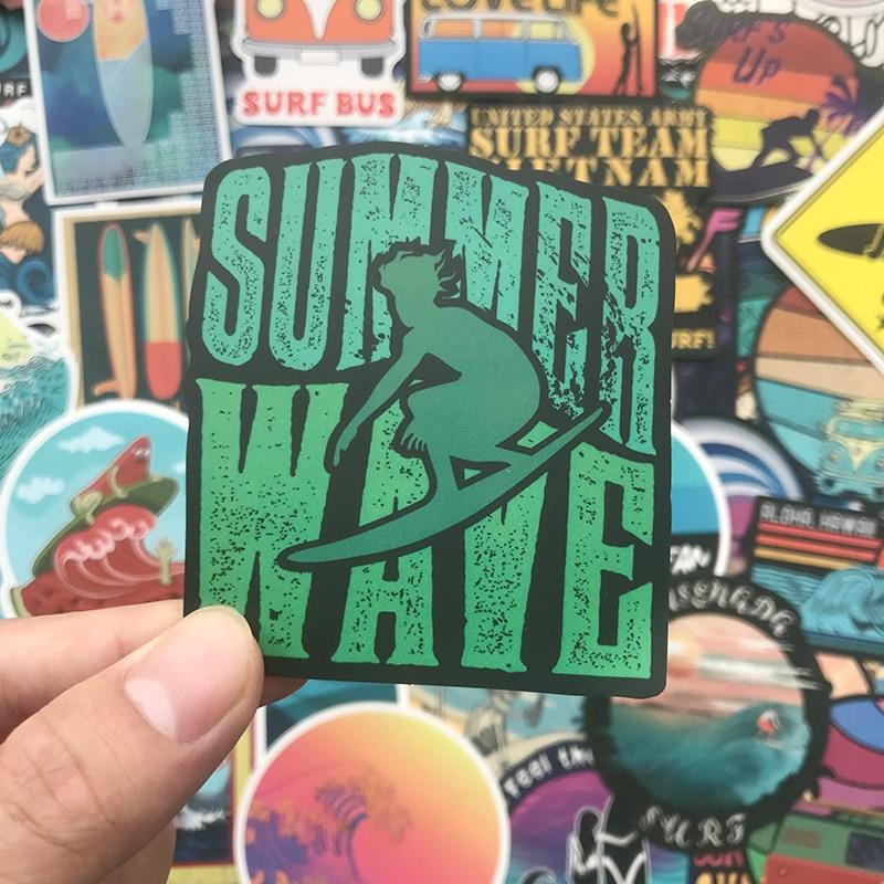 Catching Wave Surf Sticker Pack (100 pieces) 3