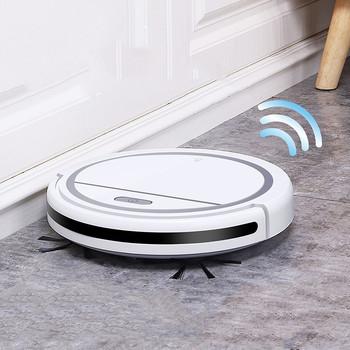 Robot odkurzający gospodarstwa domowego automatyczne czyszczenie maszyna USB odkurzacz akumulatorowy sprzęt agd urządzenia czyszczące tanie i dobre opinie CN (pochodzenie)