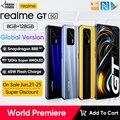 Самый дешевый Snapdragon 888 realme телефон realme gt 5G глобальная Версия 65 Вт Супер Дротика заряда 120 Гц 6,43