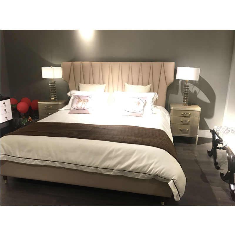 Luxury Italian Bedroom Set Furniture King Size Modern Italian