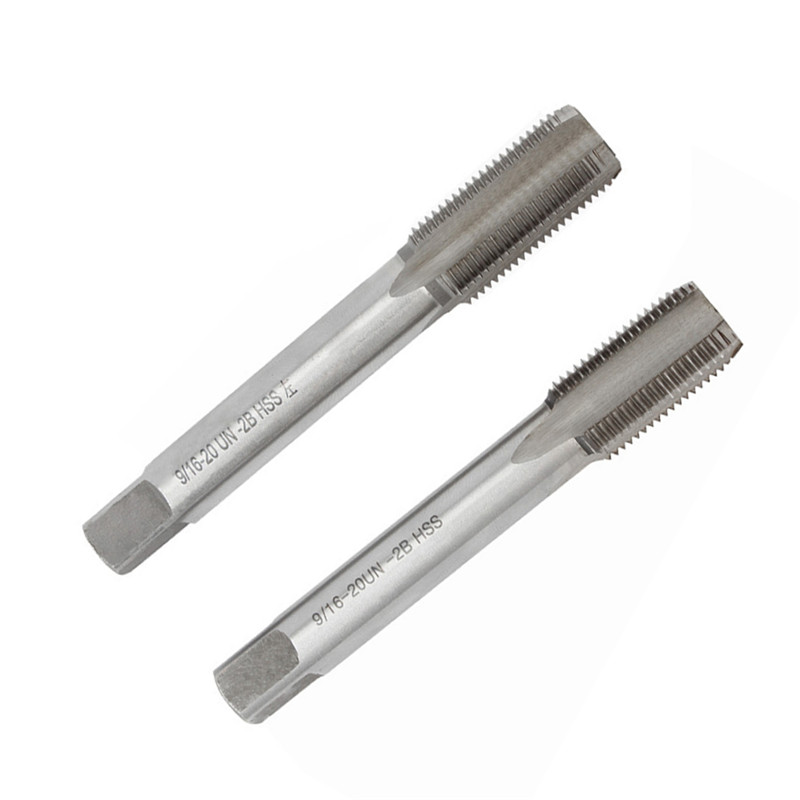 Right Hand And Left Hand Thread Tap Set For Pedal Bushing Bike Bicycle Crank Repair Metric Hand Tap Left Hand Thread Tap