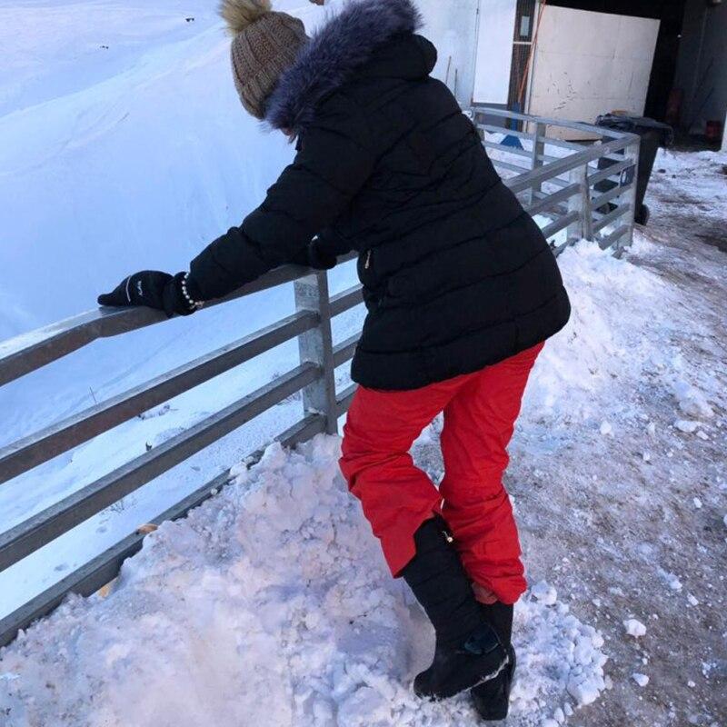 Women Snow Boots Winter Warm Platform Fur Fringe Shoes 12