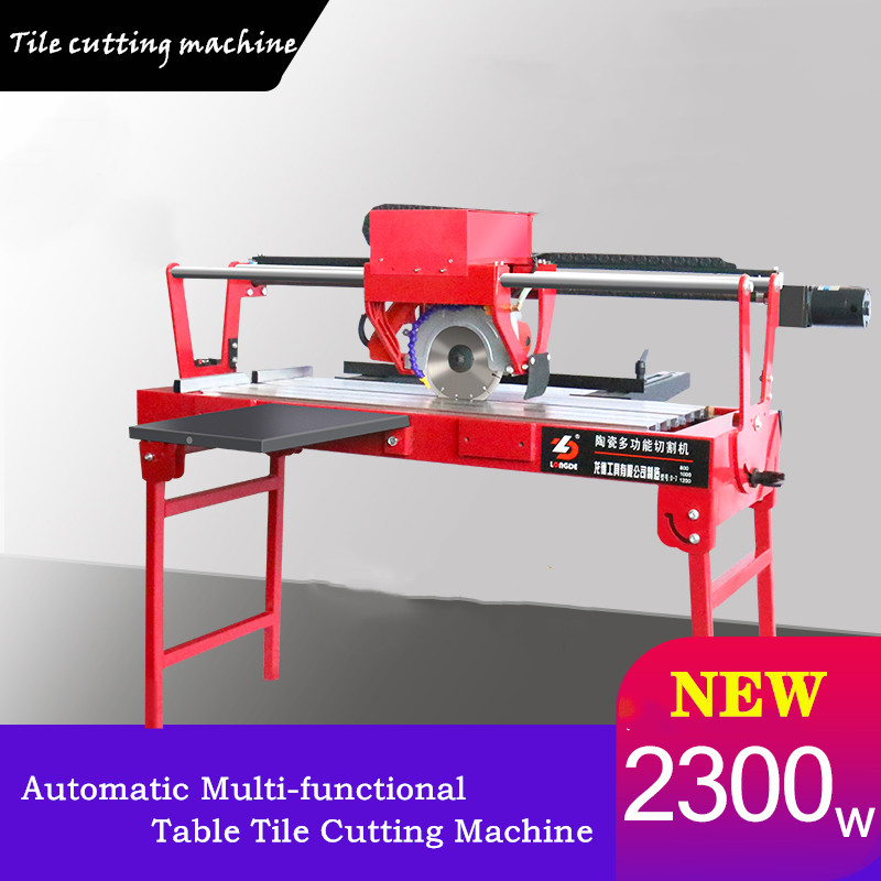 Automatic1200 New Automatic Multi-functional Table Tile Cutting Machine Electric Water Cutter Stone 45 Degree Chamfering Machine