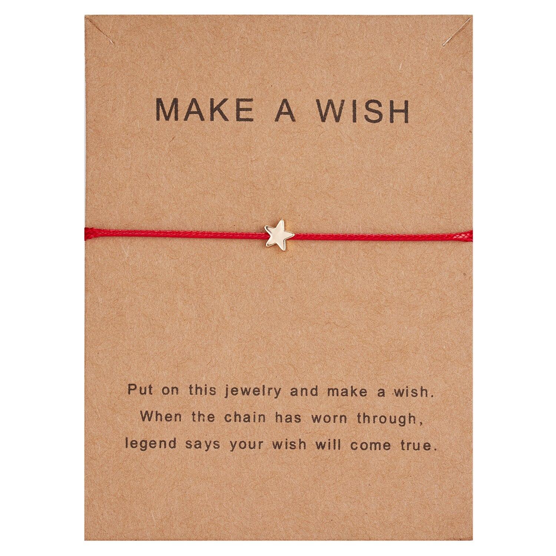 Простой крест красная струна браслет Регулируемая плетение счастливая Веревка Браслеты для женщин мужчин детей подарок ювелирные изделия ручной работы - Окраска металла: BR18Y0165-2