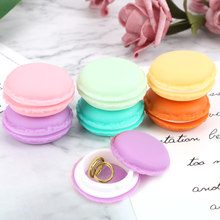 NICEYARD Macarons Storage Box Portable Carrying Pouch Jewelry Ring Necklace Carrying Case Candy Color Mini Cute Organizer(China)