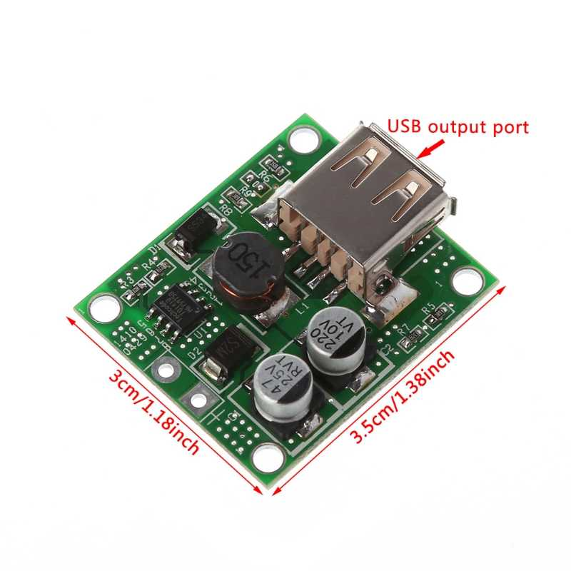 2020 新 5v 2Aソーラーパネル電源銀行のusb充電電圧コントローラレギュレータ