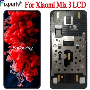 """Image 1 - Amoled for Xiaomi Mi Mix 3 LCD Display Touch Screen Digitizer Assembly 6.4"""" For Xiaomi Mix 3 LCD Screen Replacement Parts"""