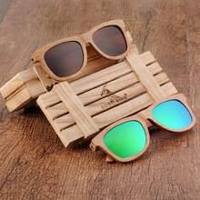 lunette de soleil femme BOBO BIRD Wooden Sunglasses Men Women Polarized Sun Glasses Women 2020 Fashion очки женские Dropshipping