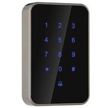 Цифровой замок контроля доступа считыватель карт электронный умный дверной замок стеклянная дверь замок безопасности офис