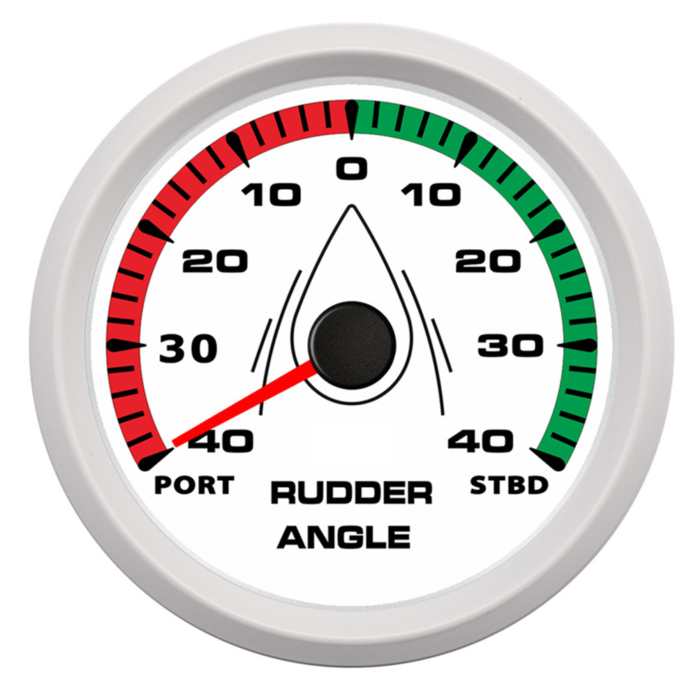 """190ohm 85mm (3 3/8"""") Waterproof Boat Yacht Rudder Angle Indicator Gauge Rudder 0 190ohm with Mating Sensor Backlight 9 32v-in Volt Meters from Automobiles & Motorcycles    2"""