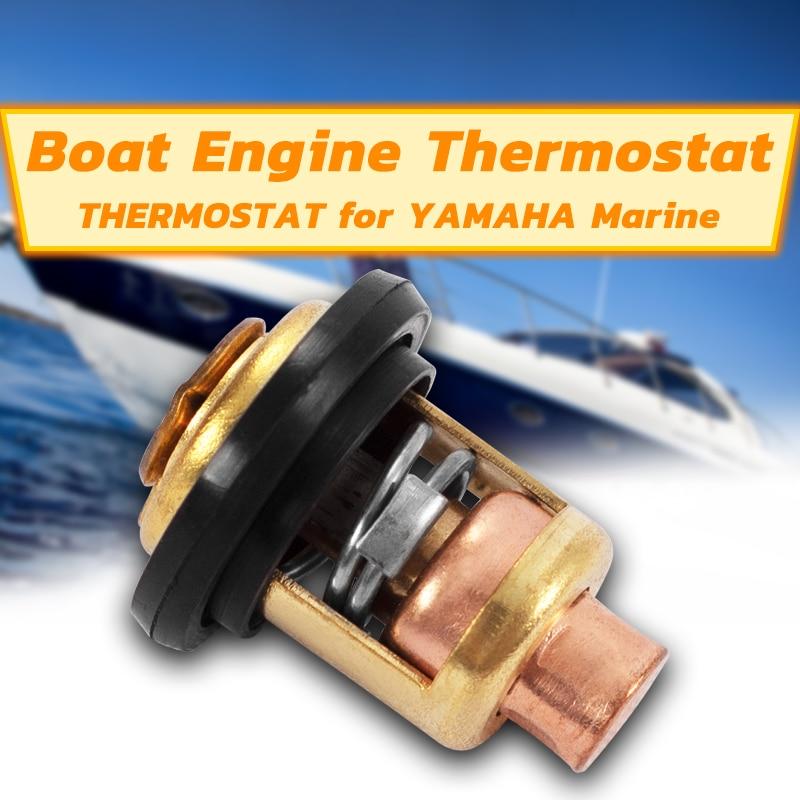 1pc Boat Engine Thermostat 6E5-12411-00 6E5-12411-02 6E5-12411-10 Boat Engine For SUZUKI For Yamaha Outboard Motor Engine Part