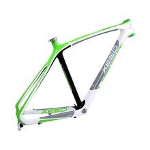 """XEED 27.5x21 """"/17""""/19 """"MTB bisiklet T800 karbon çerçeve BB68 süper hafif 135*9mm dağ bisikleti karbon Boost Frameset disk fren"""