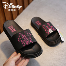 Disney children's cartoon Mickey Mouse non-slip soft sole girl sandals shoes fashion beach shoes summer household shoes