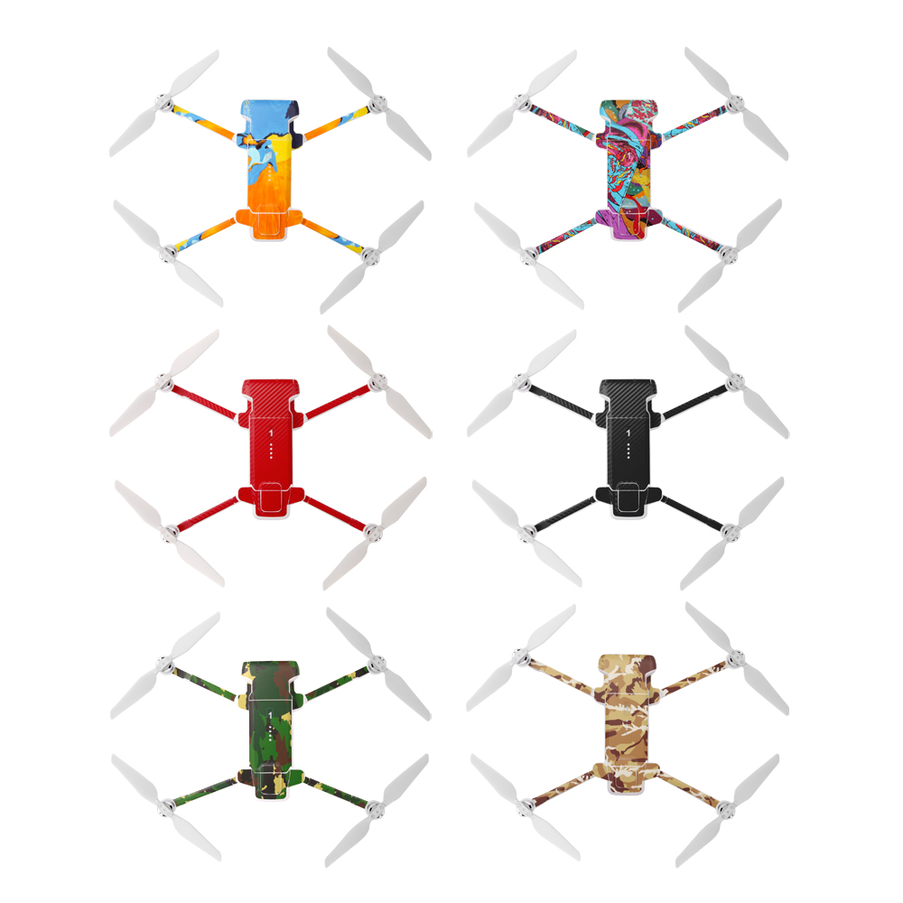 New PVC Waterproof Sticker For Fimi X8 SE Drone Body Shell Protection Skin Quadcopter Camera Drone Accessories