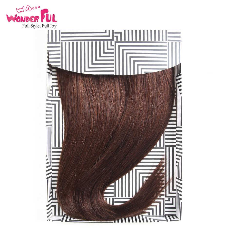 Braziliaanse Yaki Steil Haar 4 Bundels Deal 190G 1 Pack Menselijk Haar Weave Bundels Remy Kleur Rood/Burg /1B/2/4 Hair Extensions