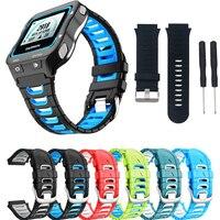 Heißer Bunte Silikon Uhr Strap Band für Garmin Forerunner 920XT mit Original Srews + Utility Messer Smart Uhr Armband