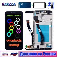 Dla Huawei Honor 7A pro AUM-l29 wyświetlacz LCD 5 7 calowy ekran dotykowy 1440*720 oleofobowa powłoka Digitizer rama montażowa tanie tanio VANCCA CN (pochodzenie) Pojemnościowy ekran 3 For Huawei Honor 7A LCD i ekran dotykowy Digitizer Huawei Honor 7A pro AUM-l29 AUM-L41 ATU-L11