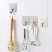 Wall-Hanger Stick Self-Hooks Bathroom Kitchen Pc 60--60mm