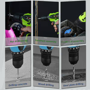 Image 5 - Электрическая отвертка YIKODA, многофункциональный аккумуляторный электроинструмент с литиевым аккумулятором 12 В