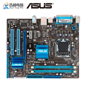 Image 1 - Asus P5G41T M LX V2 Desktop Motherboard G41 Socket LGA 775 For Core 2 Duo DDR3 8G SATA2 VGA uATX Original Used Mainboard