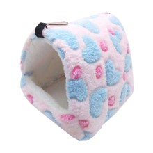 Funny Small Pet Hamster Guinea Pig Chinchilla Rabbit Squirrel Hedgehog Bed House Nest Winter Warm Rat Hanging bed