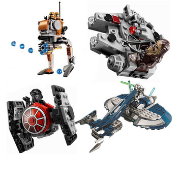 10368 Compatible with Star Wars Geonosis Troopers Block Set Building Brick Starwars Toy For Kids ausini building block set compatible with lego pirates series 158 3d construction brick educational hobbies toys for kids page 2