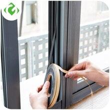 Fita de vedação de janela auto adesiva macia, fita auto adesiva de 2m para isolamento de barulho e para janela, acessórios de guanyao