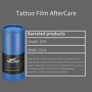 Image 2 - Waterproof Tattoo Film Aftercare Protective Skin Healing Tattoo Adhesive Bandages Repair Tattoo Accessories