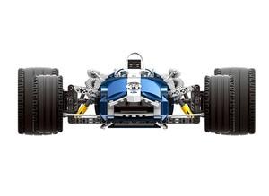 Image 2 - XINGBAO XB 03022 Building Blocks Genuine Charm Blue Sonic Racing Creative Technology Sports Car Assembled Model Bricks Gift Toys