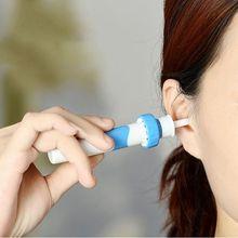 Автоматический очиститель для ушей, Электрический ушной воск, средство для удаления грязи, чистящие инструменты, безопасные для взрослых, детей, пылесос для ушей 1