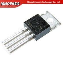 D880 to220 transistor d880 (y), 10 peças npn transistores de silicone, 3a/60v/30w a-220-a1265 2sd880
