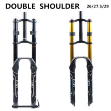 Bicycle-Fork Mtb-Suspension Magnesium-Alloy HIMALO Double-Shoulder 26/27.5/29er Air-Oil-Lock