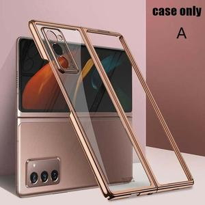 Image 5 - Suitable For GalaxyZ fold2 mobile phone case creative electroplating cover transparent protective personalized all inclusiv Y8E7