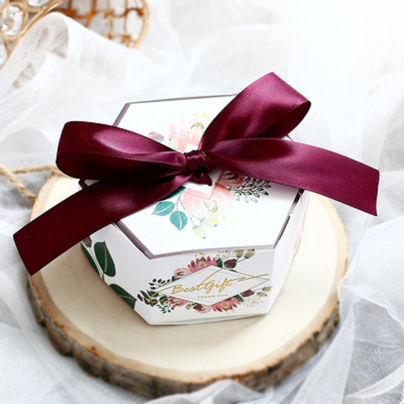 New Designs Wedding Gift Box Favor Boxes Paperboard Craft Candy Boxes Baby Shower Christmas Party Chocolate Packaging Boxes