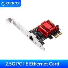 ORICO – carte réseau pour Windows, adaptateur PCI Express, port d'extension d'ordinateur 2.5 ghz, Port électrique