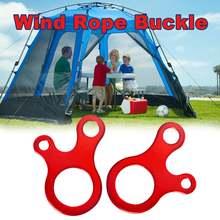 10 шт быстрое завязывание узлов палатка ветровая веревка Пряжка