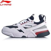 (Código de quebra) li-ning men 001 R-1 clássico lazer estilo de vida sapatos hit-color retro pai sapatos forro li ning esporte tênis agcp061