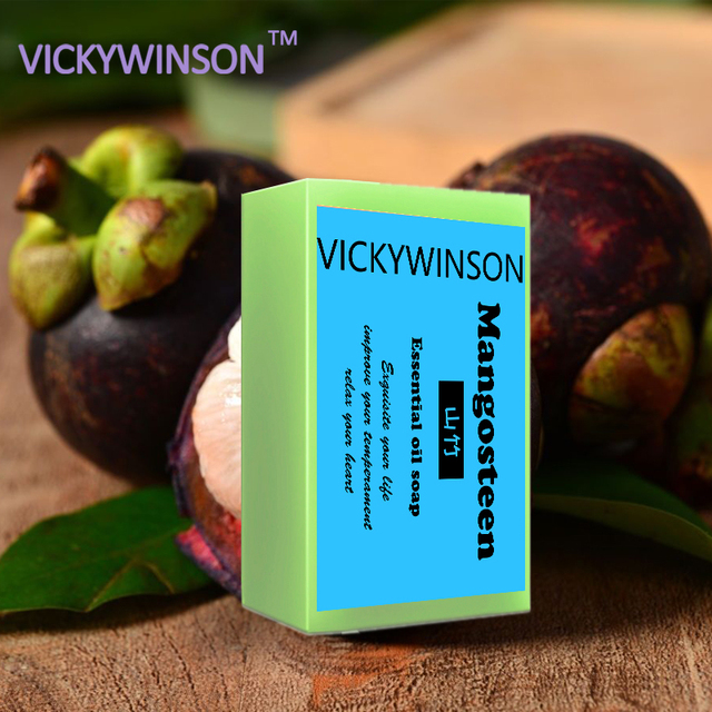 mangosteen soap 50g Active Energy Soap Charcoal Energy Soap Concentrated Sulfur Soap For Face & Body Beauty Healthy