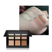 6 Colors Concealer Foundation Cream Contour Palette Primer All Palette Skin Types Makeup Concealer Face 30g Cream Kit U7S7 mini 15 colors face concealer camouflage cream contour palette makeup foundation facial face cream concealer palette cosmetic