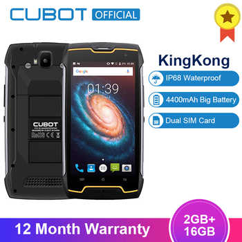 "Cubot KingKong 4400mAh IP68 Waterproof Dustproof Shockproof MT6580 Quad Core 5.0\""Android 7.0 Cellular 2G RAM 16G ROM Smartphone - DISCOUNT ITEM  32% OFF Cellphones & Telecommunications"