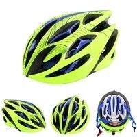 Capacete de bicicleta capacete de bicicleta ciclismo com segurança boné para homem ultraleve eps + pc capa mtb estrada integralmente-mold ciclismo capacete