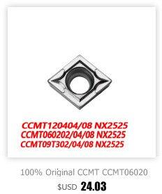 20 24PEER VP15TF AOMT184808PEER AOMT184812PEER-M Fresa Ferramenta De Corte Torno 10pcs